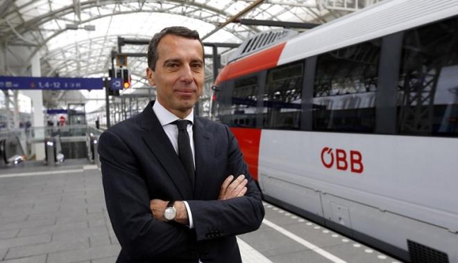 Foto: Cancelarul austriac susţine ideea tăierii fondurilor UE pentru ţările membre ce refuză primirea refugiaţilor