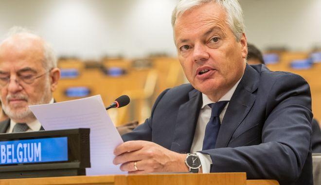 Foto: Candidatul Belgiei la Comisia Europeană, anchetat pentru spălare de bani