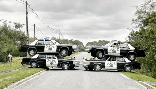 Foto: Când poliţia te trage pe dreapta