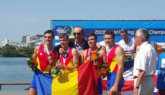 Foto: Canotaj: România a cucerit trei medalii la Mondialele de la Rio