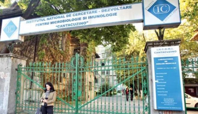 Institutul Cantacuzino a trecut la MApN. Când ar putea începe producţia de vaccin
