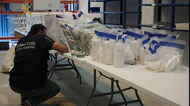 Foto: Cantitate-record de droguri, de 2.700 de kilograme, confiscată de autorităţile spaniole