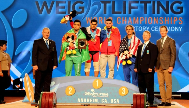 Foto: O nouă medalie pentru România, la Mondialele de haltere
