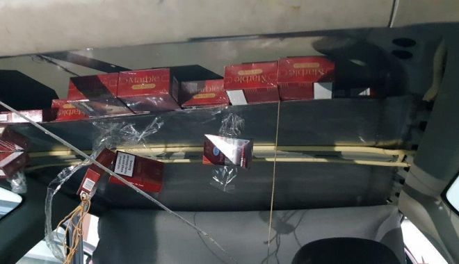 Foto: Captură de țigarete! Zeci de mii de bucăţi, confiscate
