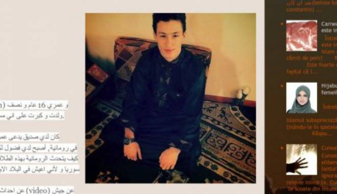 Foto: T�n�rul rom�n suspectat de propagand� jihadist�, re�inut! Ce planuri avea acesta