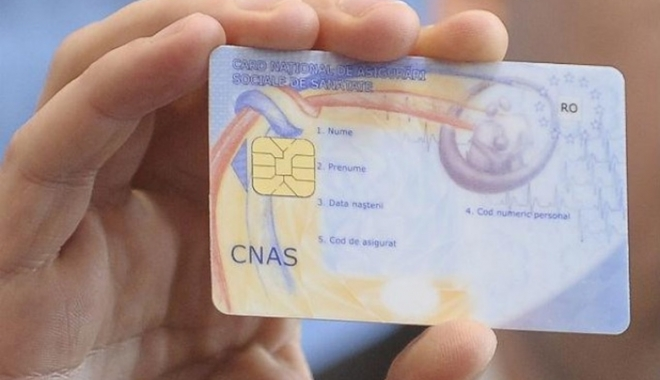 Foto: Cardul de sănătate ar putea fi desfiinţat