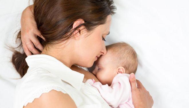 Foto: Care sunt etapele în alăptarea bebelușului