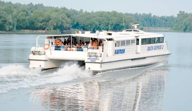 Foto: Care sunt punctele critice pentru navigaţie pe Dunăre