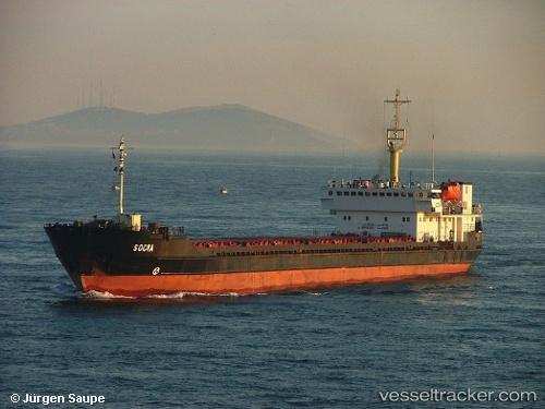 """Foto: Cargoul """"Elga-1"""" a fost abandonat de echipajul rusesc, pe Marea Neagră"""