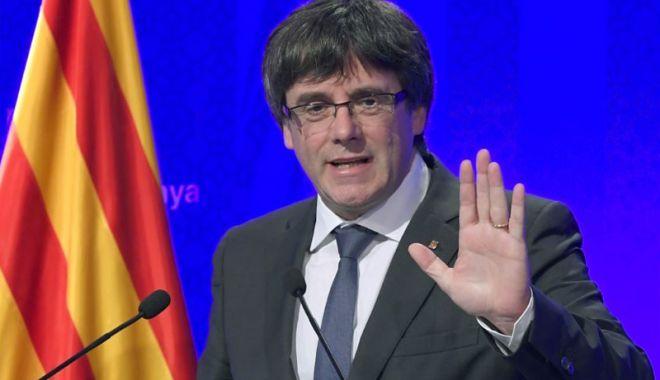 Foto: Carles Puigdemont a renunţat să candideze la conducerea executivului catalan