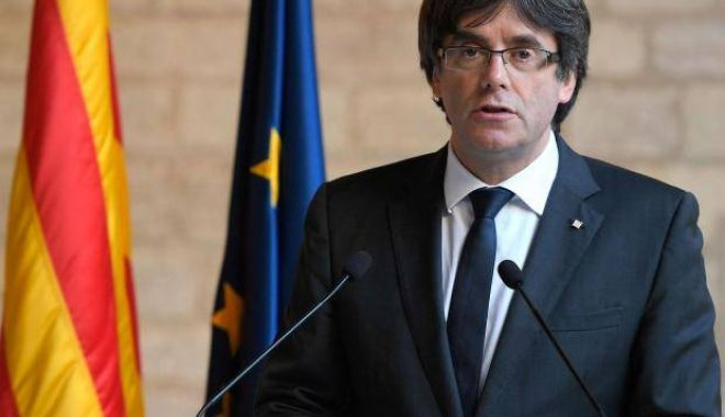 Foto: Carles Puigdemont, fostul lider catalan, reținut în Germania