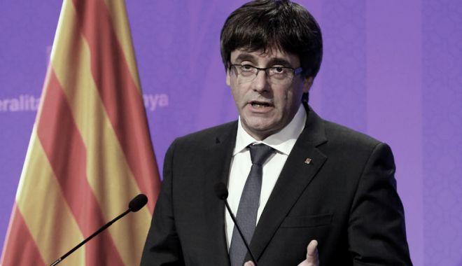 Foto: Puigdemont a depus o plângere la ONU
