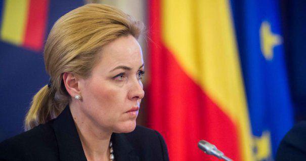 """Foto: Carmen Dan, către Iohannis: """"Ghinion, domnule preşedinte, dar doamna premier nu va demisiona!"""""""