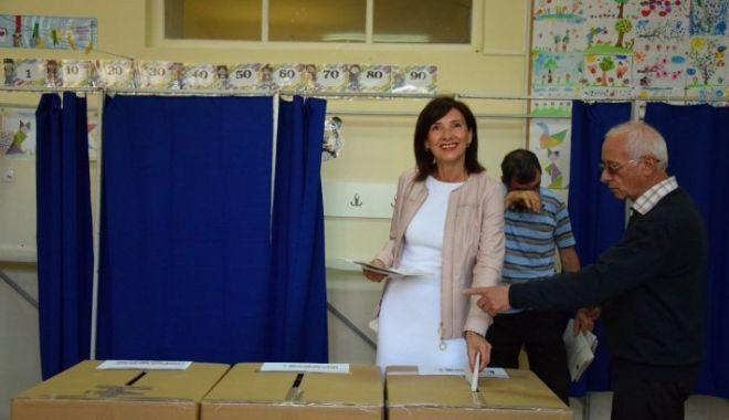 Foto: Alegeri prezidențiale 2019. Unde a votat Carmen Iohannis
