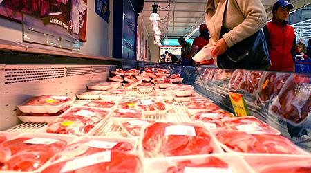 Foto: TONE DE CARNE ŞI PRODUSE LACTATE, RETRASE din magazinele constănţene
