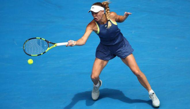 Foto: Tenis, Turneul Campioanelor / Caroline Wozniacki, victorie cu Petra Kvitova, după un meci de două ore și 19 minute
