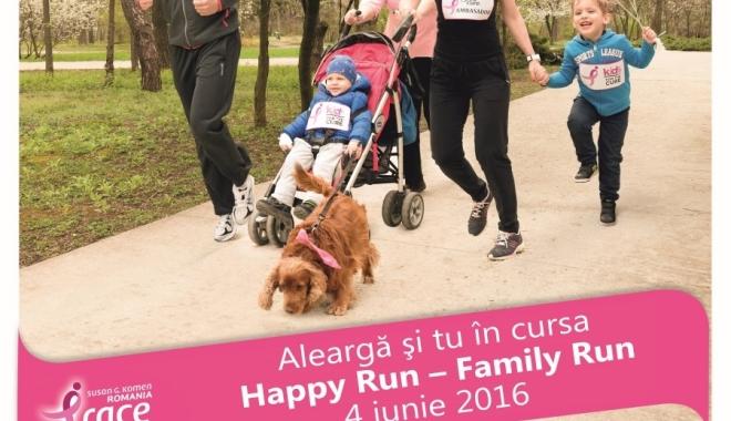 """Foto: Carrefour se alătură crosului """"Happy Run – Race for the Cure Romania"""", o acţiune pentru prevenţia şi lupta împotriva cancerului la sân"""