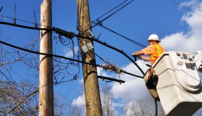 Foto: Cartierul Viile Noi din Constanţa, fără curent electric