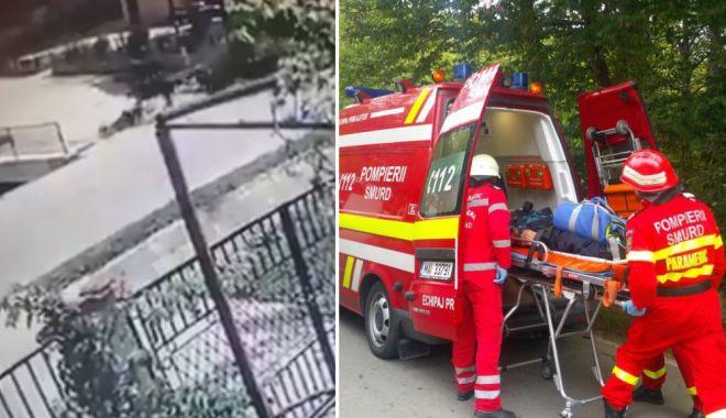 VIDEO ŞOCANT! Bărbat lovit de căruţă. Victima ESTE ÎN COMĂ! - caruta-1532259389.jpg