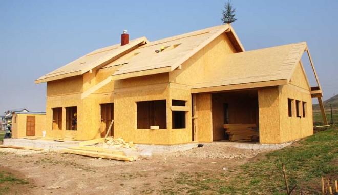 Foto: SUA: Producţia naţională de case din lemn, cu puţin sub 1 milion de unităţi