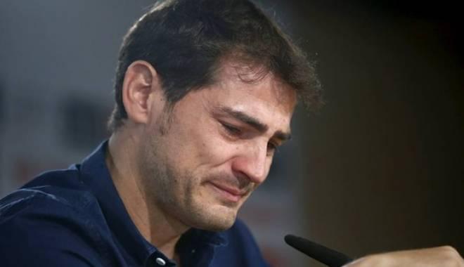 Foto: Lacrimile unui campion: Casillas a plâns ca un copil la despărţirea de Real