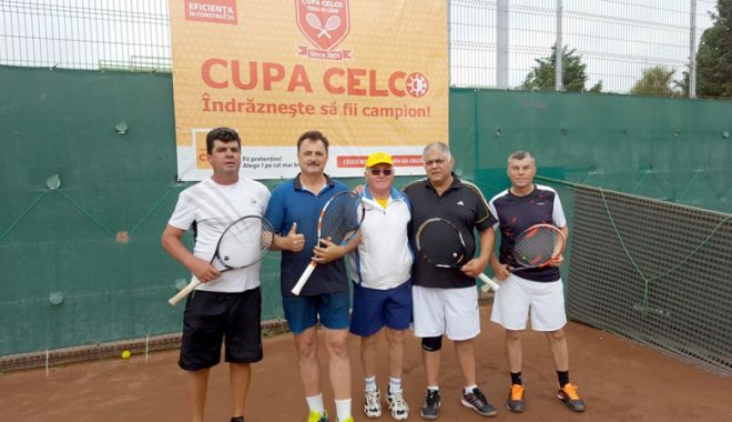 Foto: Câștigătorii celei de a X-a ediții a Cupei CELCO la tenis de câmp