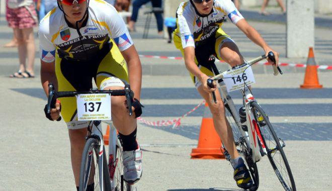 Câştigătorii primei ediţii a Cupei Micului Biciclist