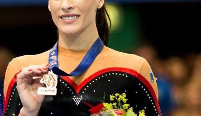 """Foto: Cătălina Ponor: """"Mi-a fost dor de medalii!"""""""