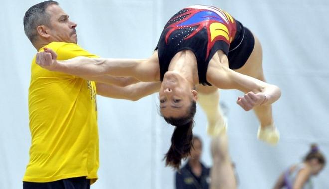 Foto: Cătălina Ponor a rămas fără antrenor la lotul naţional