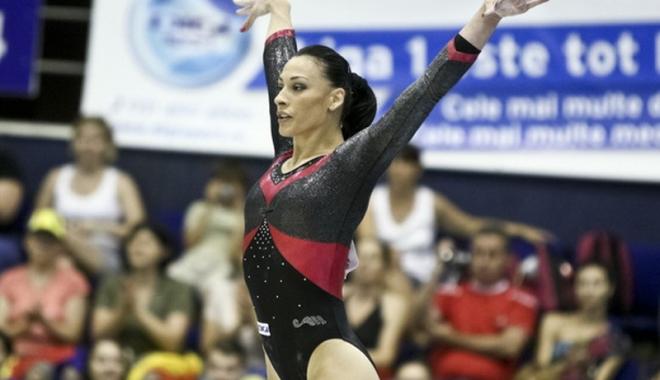 Foto: Cătălina Ponor s-a calificat în finala de la bârnă
