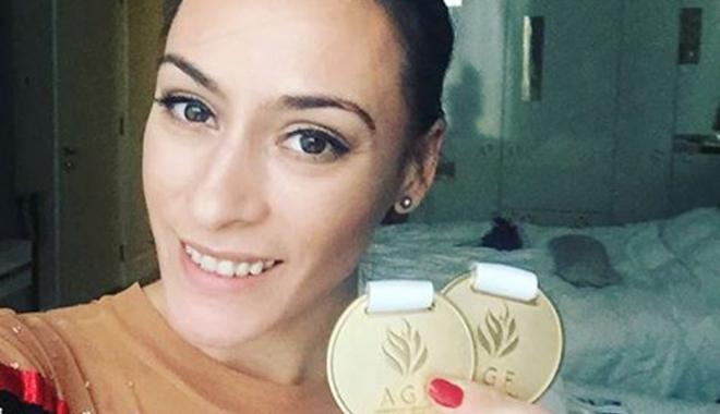 Foto: Cătălina Ponor, argint la Cupa Mondială de la Doha