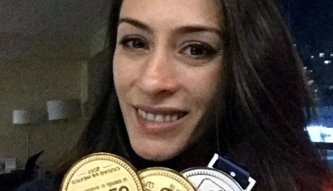 Foto: Cătălina Ponor s-a retras din activitate cu două medalii de aur
