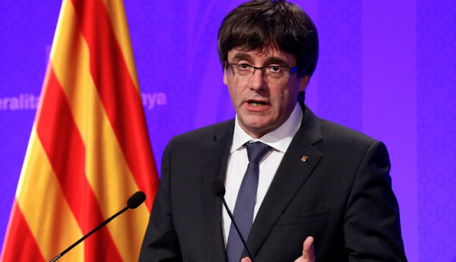 Foto: Catalonia: Acord al celor două mari partide  pro-independență pentru învestirea lui Puigdemont