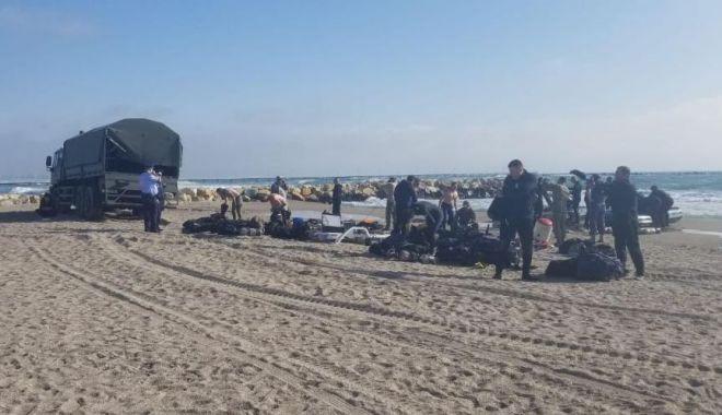 Foto: Disperare pe mare! Au fost reluate căutările băiatului de 16 ani, înecat ieri