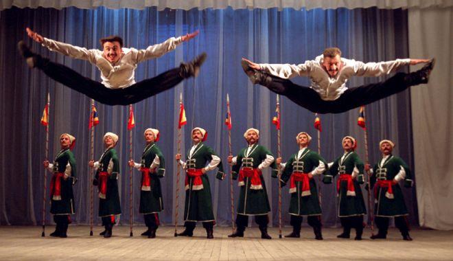 Foto: Ruşii cazaci, show de excepţie la Constanţa