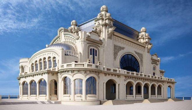 Foto: Cazinoul, încă un pas pentru reabilitare
