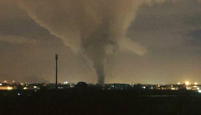 Foto: Trei tornade, dintre care una marină, au lovit sudul Italiei într-o singură zi