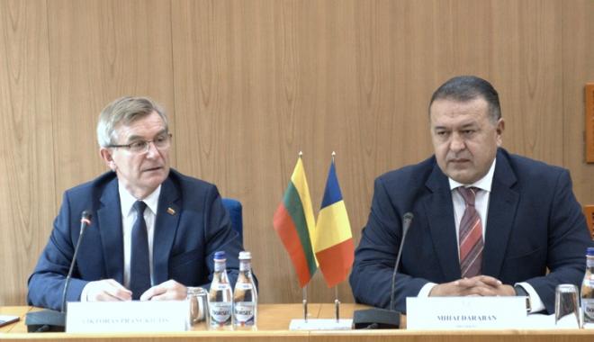 Foto: CCIR a organizat seminarul de afaceri România-Lituania