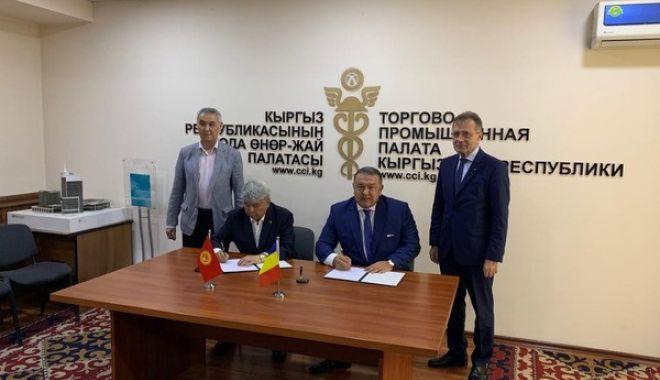 Foto: CCIR a organizat o misiune economică în Kârgâzstan