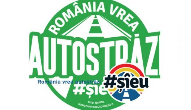 """Foto: CCIR s-a alăturat protestului """"România vrea autostrăzi"""""""