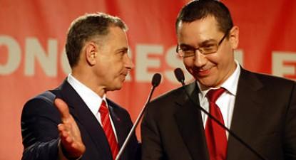 Foto: Victor Ponta a fost ales preşedinte al PSD. Geoană devine istorie