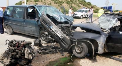 Foto: Tragic accident de circula�ie la intrarea �n localitatea Cump�na