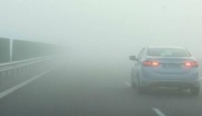 Foto: Ceaţă pe Autostrada A2