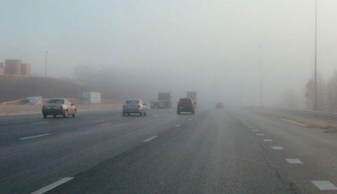 Foto: A fost prelungit codul galben de ceaţă, la Constanţa