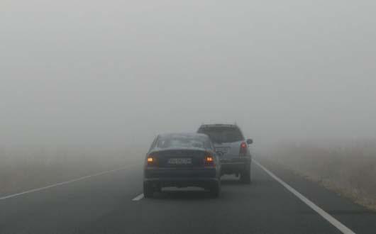 Foto: Şoferi, atenţie! Cod galben de ceaţă în Constanţa