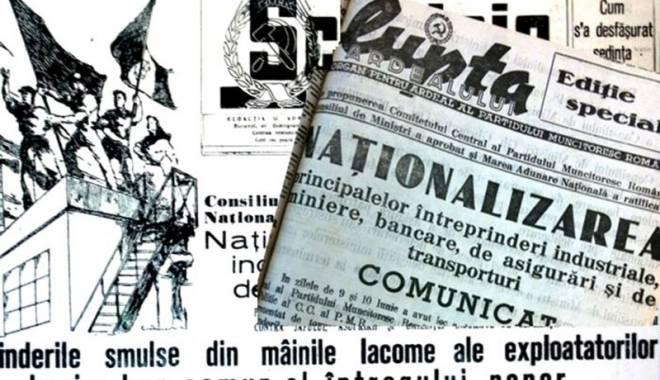 Foto: Profitorii naţionalizărilor în 1948 şi 1950