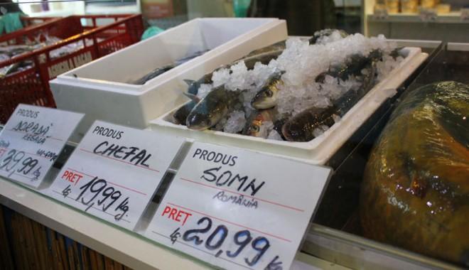 Foto: Cumperi peşte din pieţele din Constanţa? Iată ce mănânci în realitate