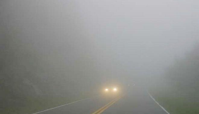 Foto: Mai multe localităţi din judeţul Constanţa, sub avertizare de ceaţă densă
