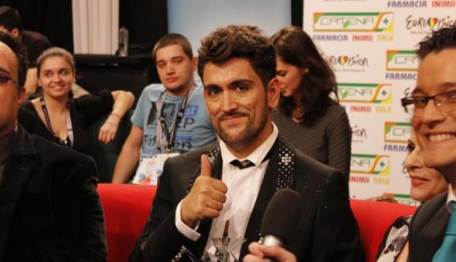 Foto: Cezar Ouatu merge fără videoclip la FINALA Eurovision 2013. Află motivul