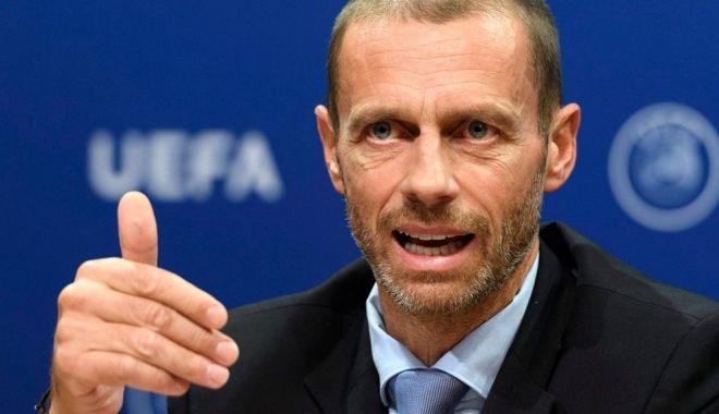 Foto: Aleksander Ceferin, un nou mandat la preşedinţia UEFA